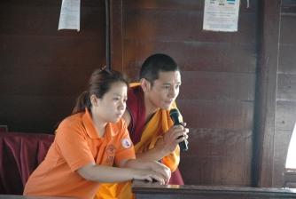Animal Liberation led by H.E. Kangyur Rinpoche on 17 May 2008.