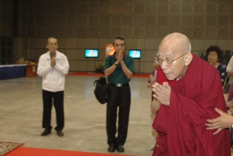Grand Prayer Blessings of Attainment & Great Bliss,  conducted by H.E. Lati Rinpoche on 8-11 Nov 2007.