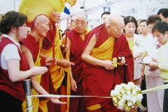 Grand Prayer in Homage to Lord Buddha Shakyamuni, conducted by H.E. Lati Rinpoche on 30 Oct - 3 Nov 2005.