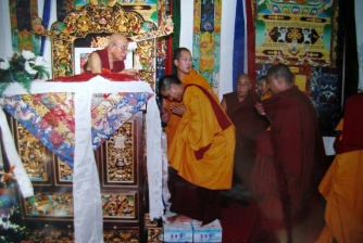 National Well-Being Peace & Progress Grand Puja, conducted by H.E. Lati Rinpoche on 9-16 Nov 2004.