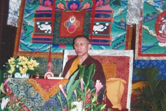 Great Wisdom & Compassion Dharma Teaching & Initiations, conducted by H.E. Dagyab Rinpoche on 14-15 Sep 2002.