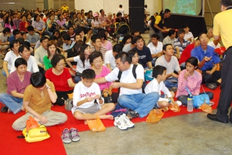 The Grand Healing Puja, conducted by H.E. Kangyur Rinpoche on 2-4 Feb 2007.