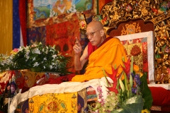 The Seed of Special Affinity with Buddha Maitreya, conducted by H.E. Lati Rinpoche on 25-27 Oct 2008.
